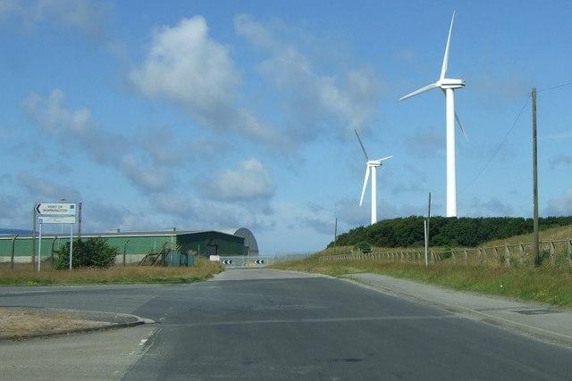 Windfarm at Workington