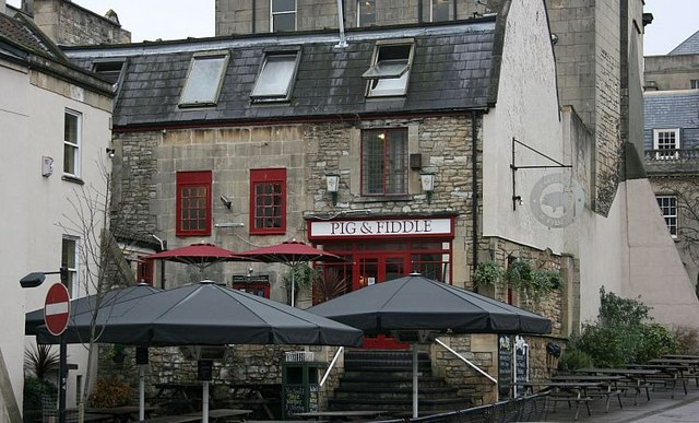 2007 : The Pig and Fiddle, Walcot Street, Bath