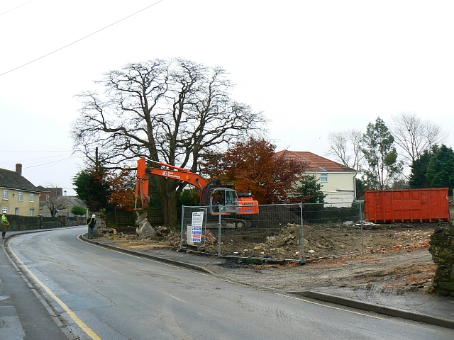 Site of 6 Green Road, Upper Stratton, Swindon