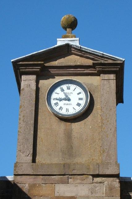 Clock tower House of Dun