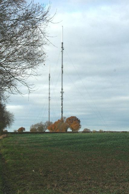 Sudbury Television Transmitter Masts