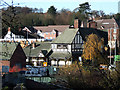 SO8898 : Rooftops and Hillside, Compton, Wolverhampton by Roger  Kidd