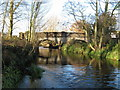 SJ5816 : Ercall Mill Bridge by Paul Beaman