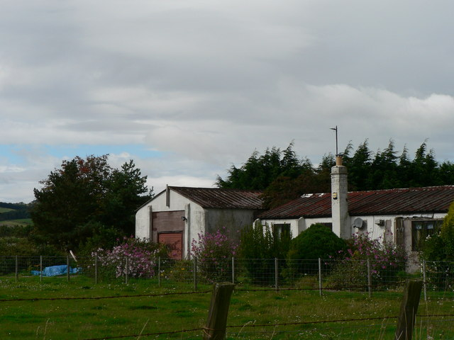 Old RAF Buildings - Milfield