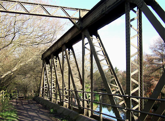 Meccano Bridge over the Staffordshire and Worcestershire Canal, Wolverhampton