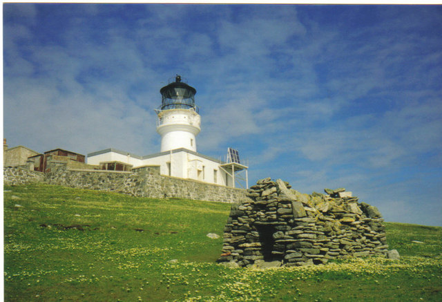 St. Flannan's Cell and Flannan Isles Lighthouse