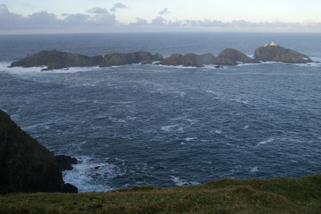 The Muckle Flugga reef