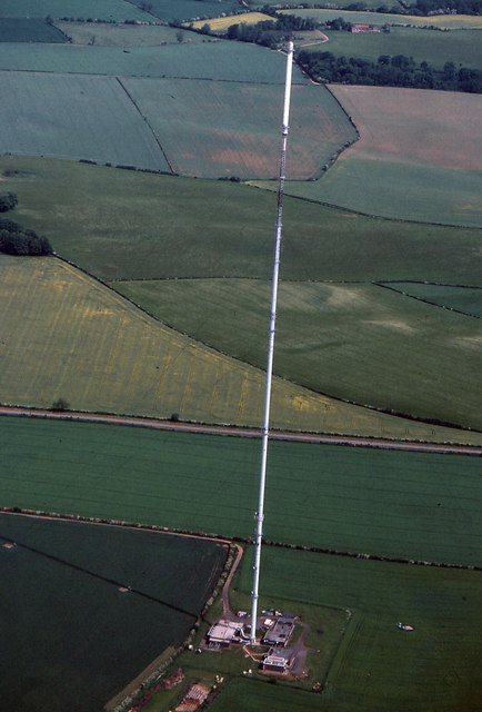Belmont TV Mast From The Air