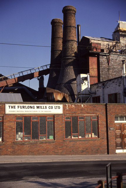 The Furlong Mills Co Ltd, Furlong lane, Burslem