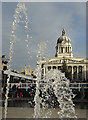 SK5739 : Council House and fountains by Alan Murray-Rust