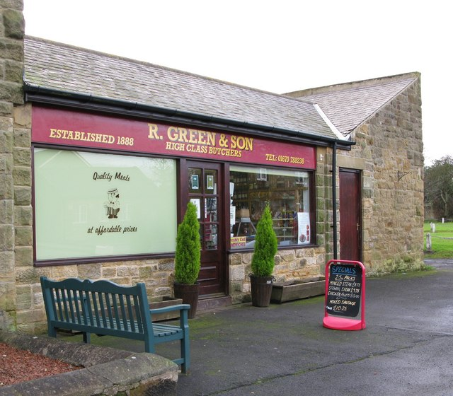 R Green & Sons, Butchers