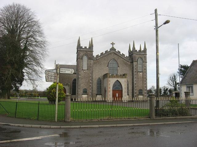 Church at Ballinlough, Co. Meath
