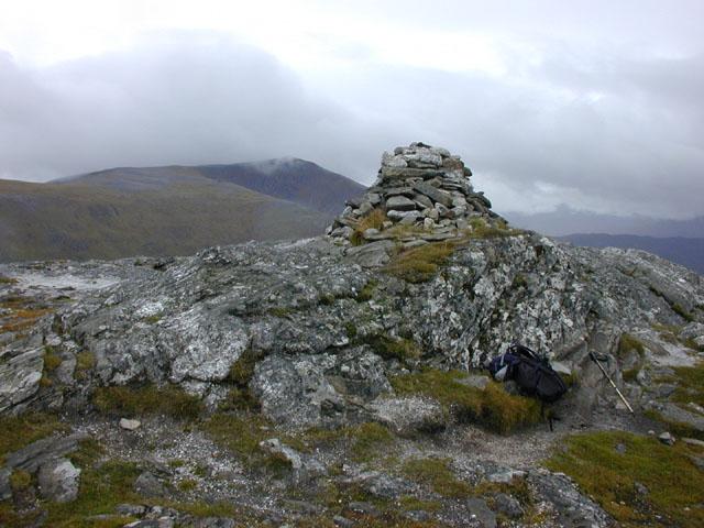 Summit cairn of Creag Pitridh