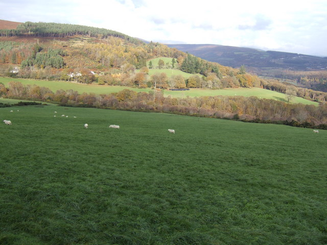 Lower slopes of Derrybawn