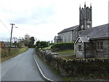 T1586 : Ballinatone church and school by Jonathan Billinger