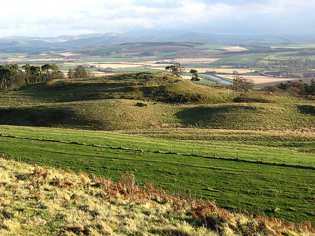 Iron Age fort on Peniel Heugh