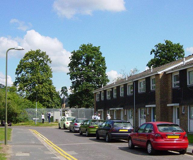 Gate From Gilbert Road To Frimley Park 169 Euchiasmus Cc