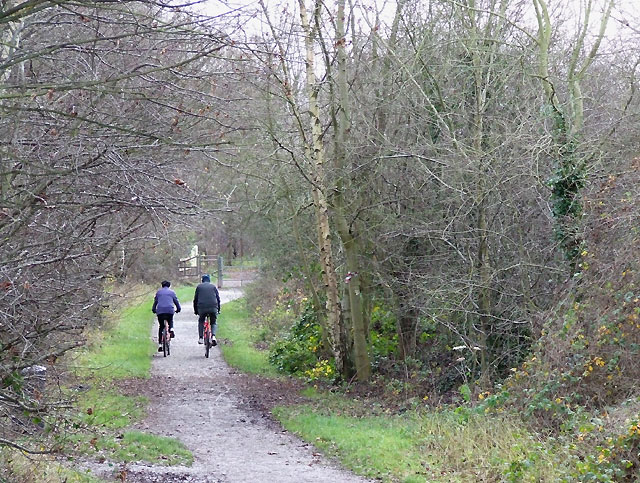 South Staffordshire Railway Walk at Wombourne
