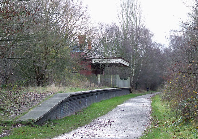 Wombourne (Bratch) Station, Staffordshire