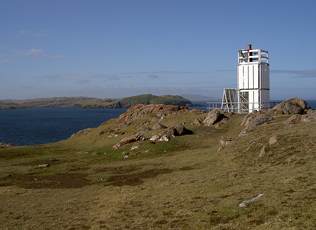 Lighthouse Muckle Roe