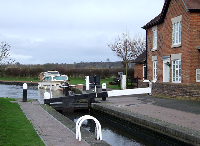 Bratch Top Lock, Staffordshire and Worcestershire Canal