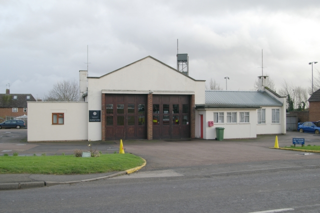 Long Buckby fire station