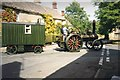 SP1405 : Traction engine at Coln St Aldwyns by Trevor Rickard