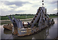 TM0124 : Colne Dredger, The Hythe, Colchester by Chris Allen