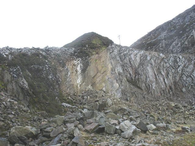 Granite Quarry Ireland at yr Eifl Granite Quarry