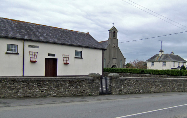 Village school and church