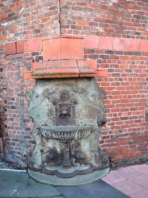 Drinking fountain at old abattoir