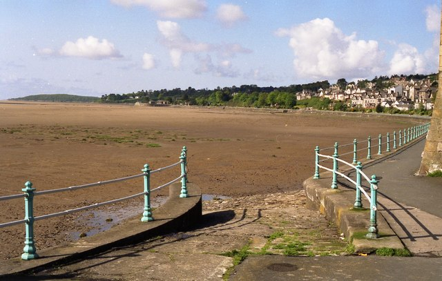 Grange-Over-Sands - slipway and bay