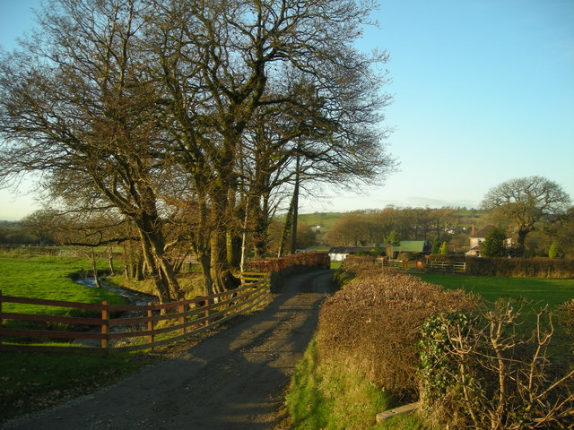 Entrance to Fferm Felinfach