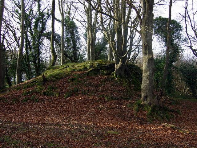 Motte, Castell Nanhyfer