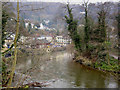 SK2958 : The River Derwent at Matlock Bath by Steve  Fareham