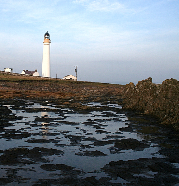 Foreshore at Scurdie Ness Lighthouse