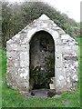 SW7114 : St Ruan's Well by Ian Macnab