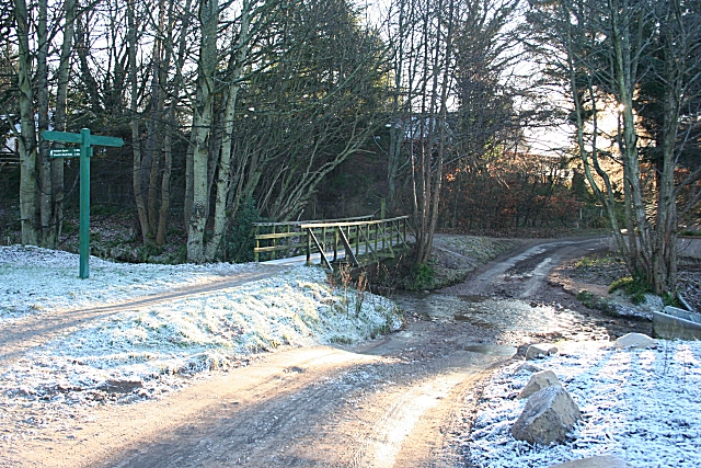 Ford on the Fochabers Burn