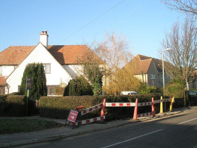 Houses on corner of North Way and Park Way