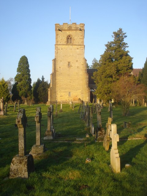 Colwall church and graveyard