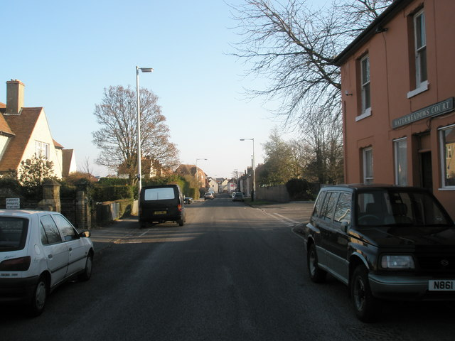 Looking down West Street towards the town centre