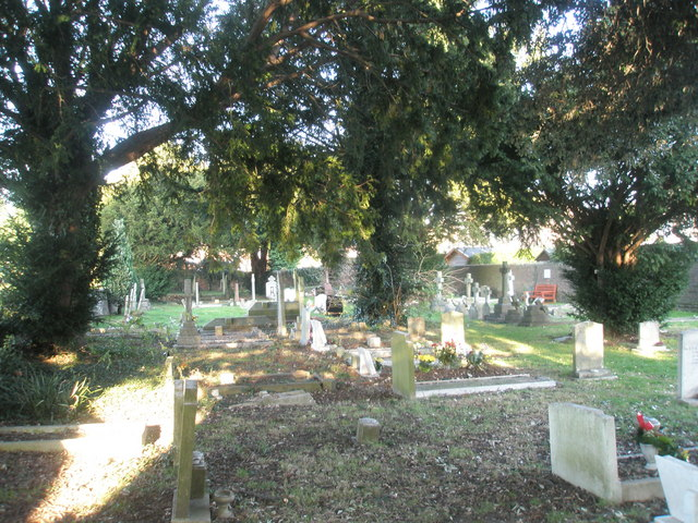 Cemetery behind St Joseph's Church