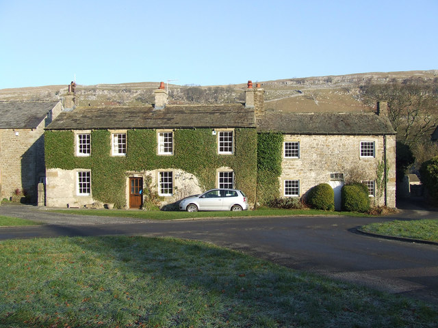 Stone Cottages on Arncliffe Village Green