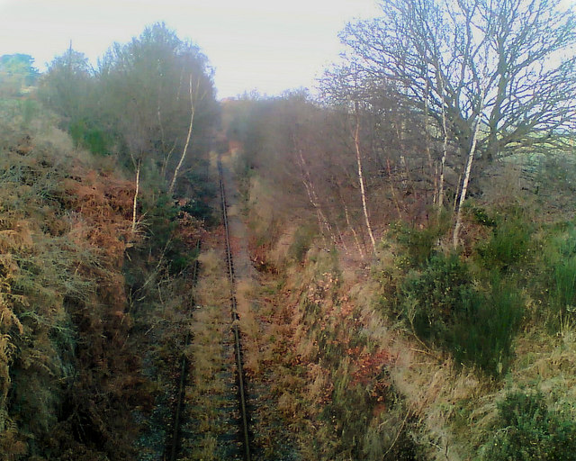 Disused railway line Walesby