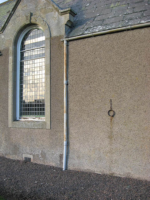 Eckford Parish Church detail
