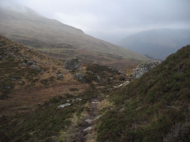 Below Meall na h-lolaire