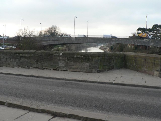 Hereford: three bridges across the Wye