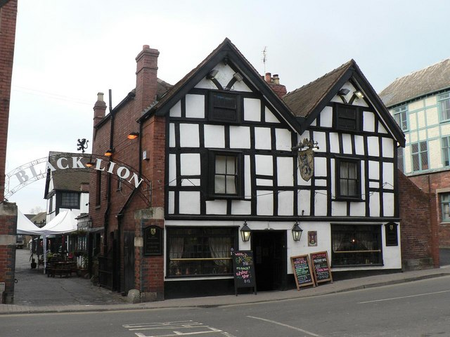 Hereford: The Black Lion