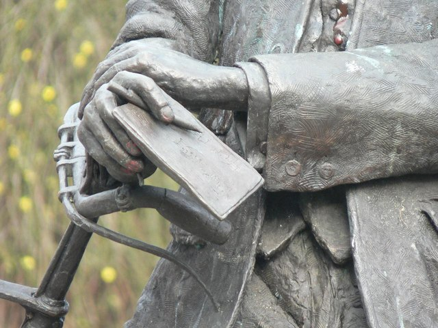 Hereford: Sir Edward Elgar (detail)