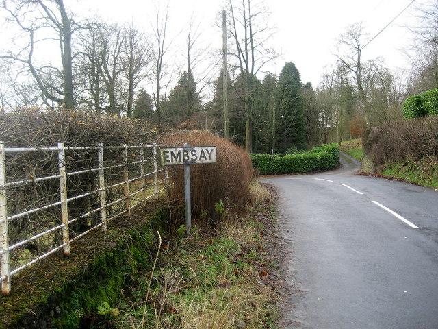 Entering Embsay